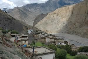 Village of Lubra, Mustang district, Nepal
